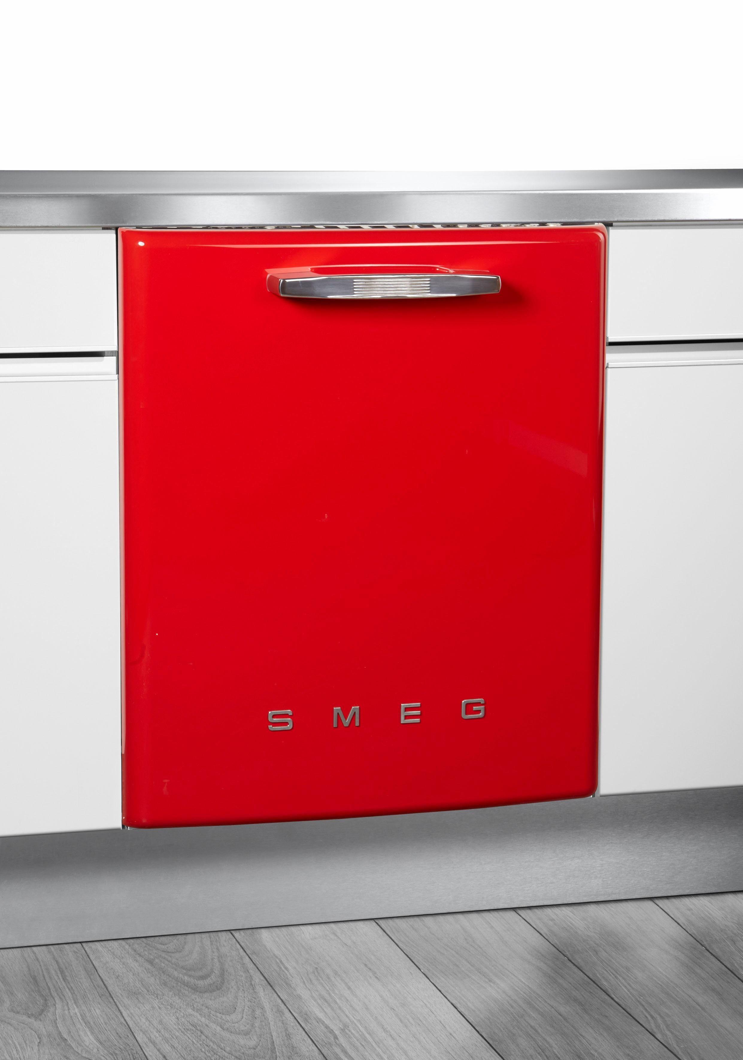Smeg Vollintegrierbarer Einbaugeschirrspüler ST2FABRD, A+++, 8,5 Liter, 13 Maßgedecke