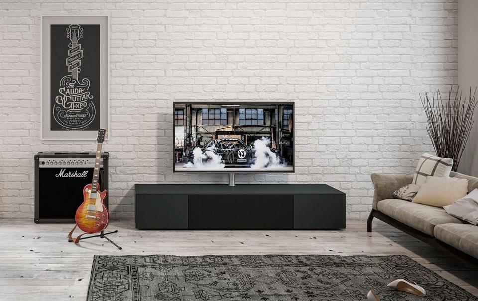 spectral sound lowboard select wahlweise mit tv halterung breite 200 cm online kaufen otto. Black Bedroom Furniture Sets. Home Design Ideas