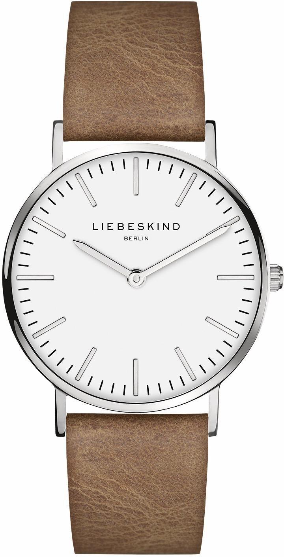 Liebeskind Berlin Quarzuhr »New Case, LT-0083-LQ«   Uhren > Quarzuhren   Braun   Liebeskind Berlin