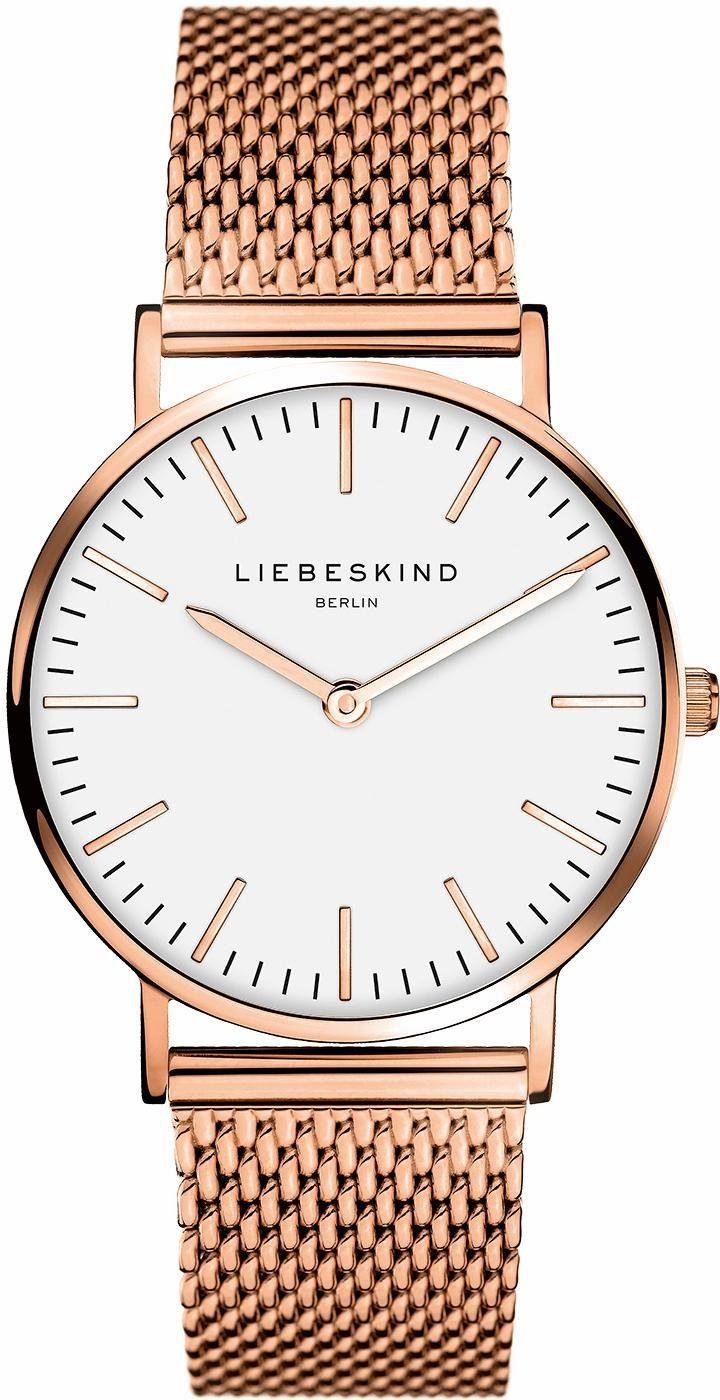 Liebeskind Berlin Quarzuhr »New Case, LT-0077-MQ«