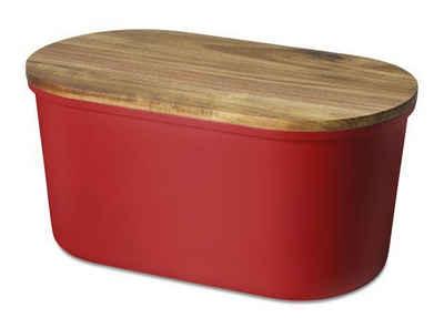 Echtwerk Brotbox, Melamin, 3 Farben, »FRESH« Sale Angebote Luckaitztal