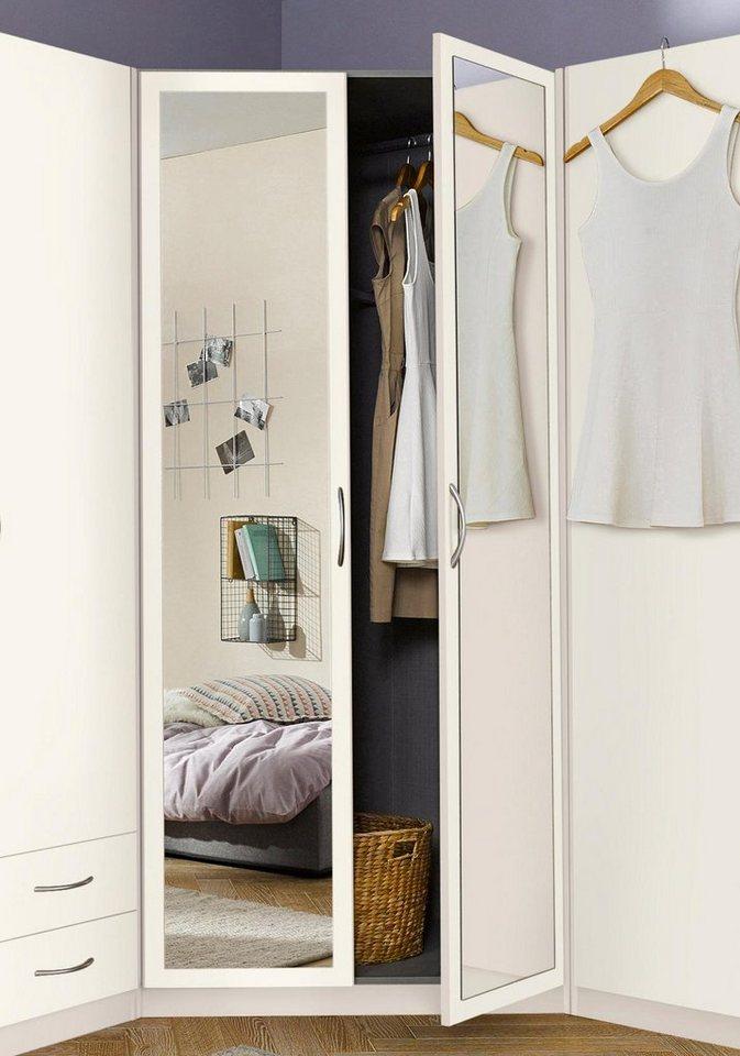 Eckkleiderschrank weiß mit spiegel  Wimex Eckschrank mit Spiegel Frankfurt kaufen | OTTO