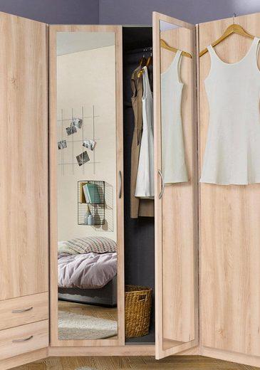 Wimex Eckkleiderschrank »Sprint« mit Spiegel
