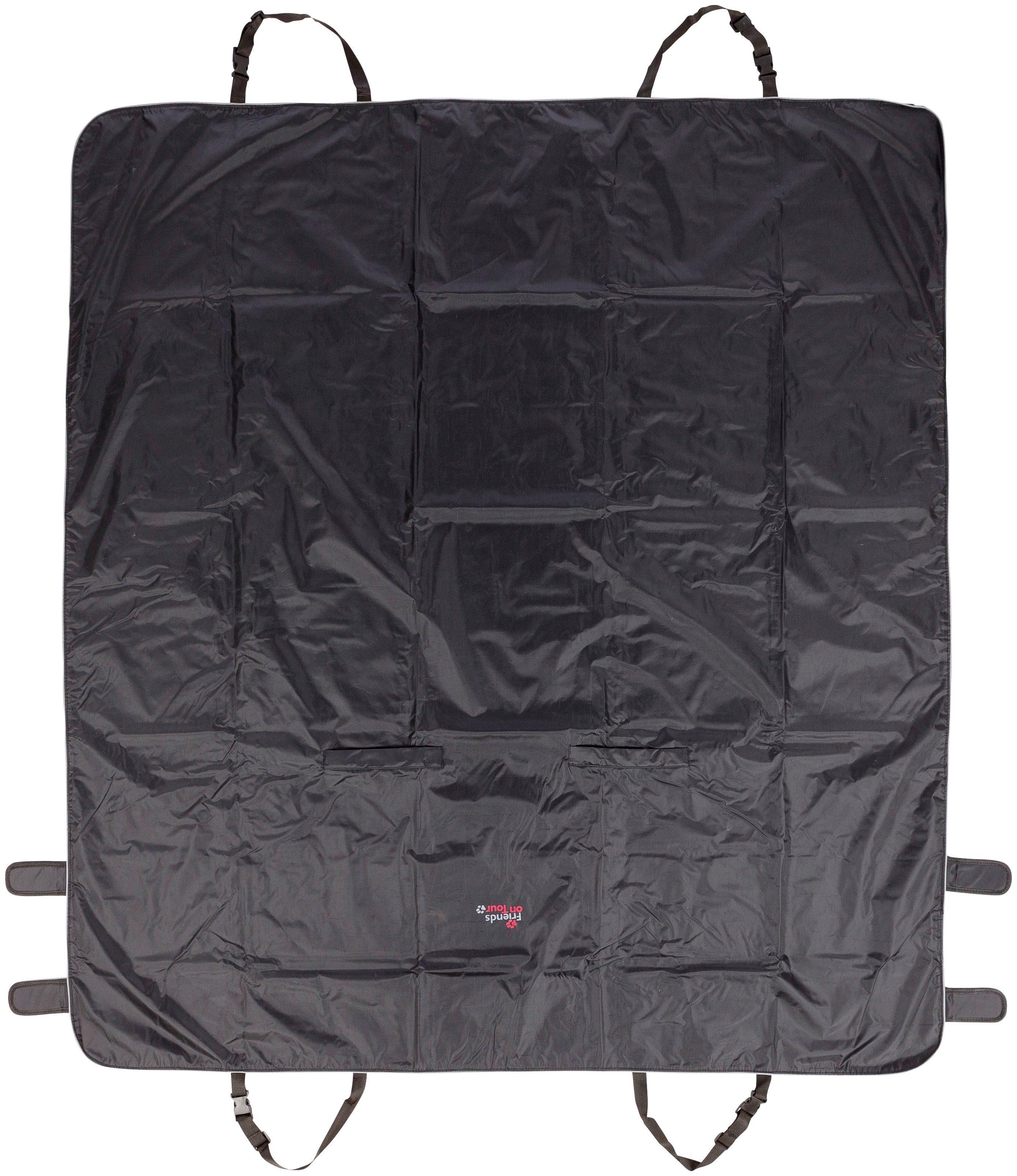 TRIXIE Hunde-Decke , BxT: 145x160 cm, schwarz