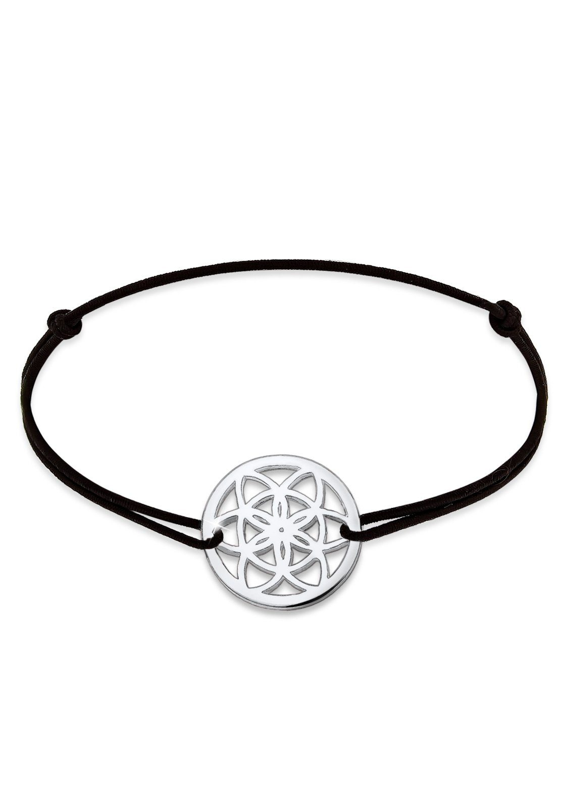 Elli Armband »Ornament Lebensblume Floral 925 Silber«