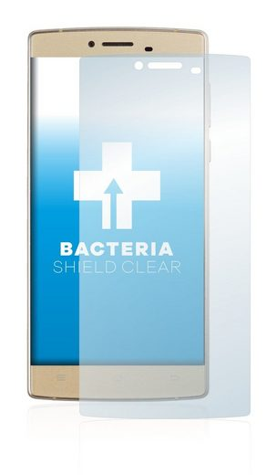 upscreen Schutzfolie »für Cubot S600«, Folie Schutzfolie klar antibakteriell