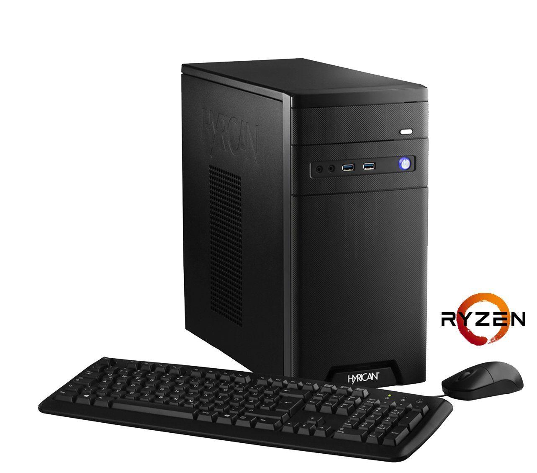 HYRICAN Gaming PC AMD Ryzen™ 5 1600X , 16GB, AMD RX580 »CyberGamer 5551«