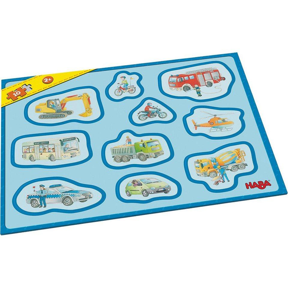 Haba Meine ersten Rahmenpuzzles - 10 Teile - Fahrzeuge online kaufen ...