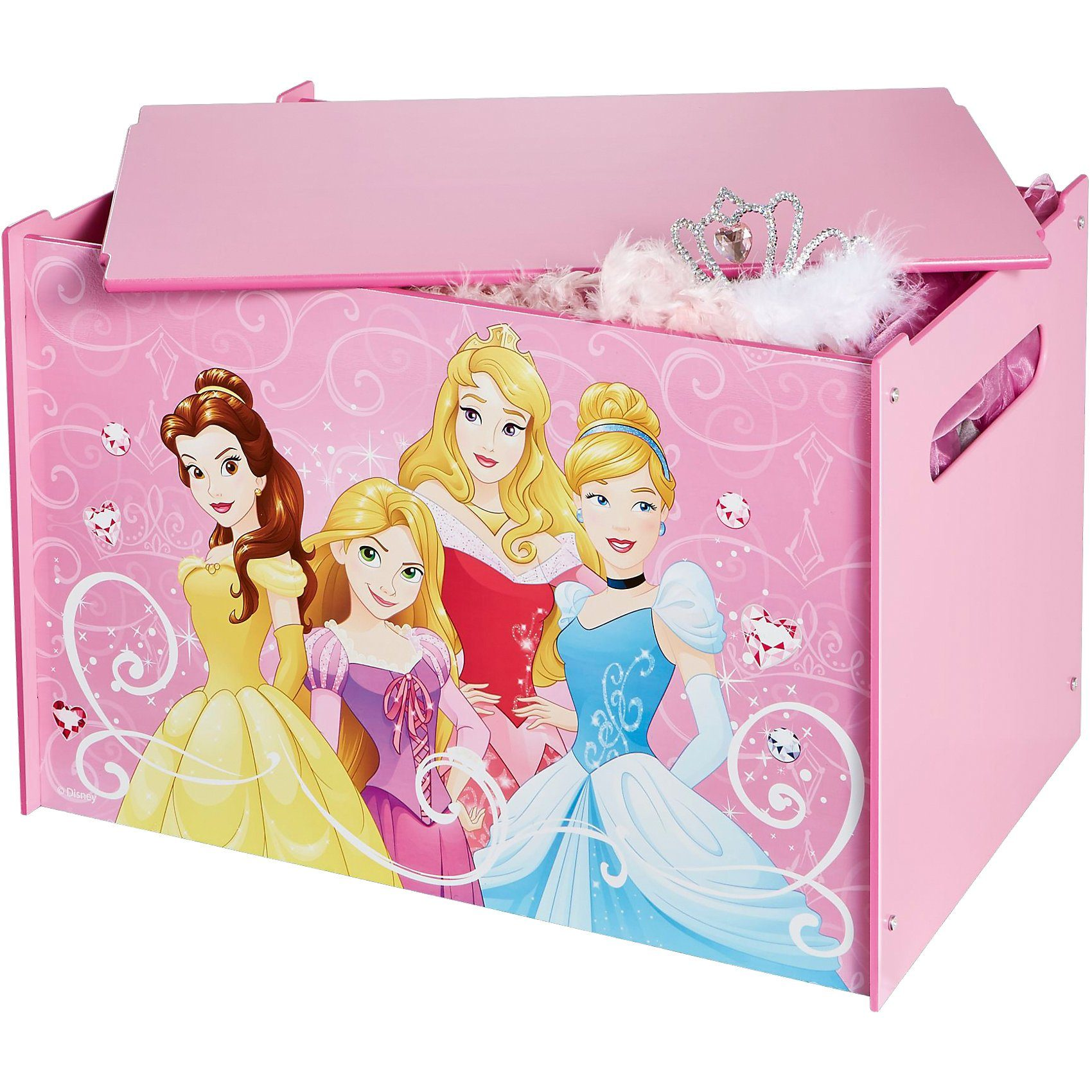 WORLDS APART Spielzeug Truhe, Disney Princess