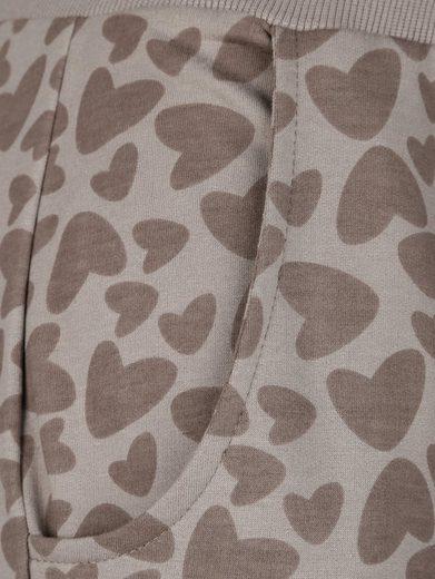 Laura Kent Sweathose mit modischem Herzchendruck