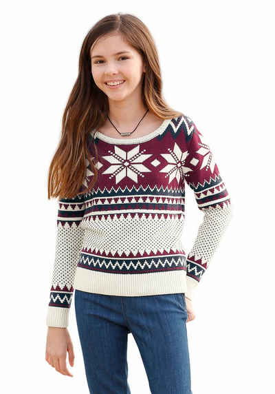 Arizona Norwegerpullover mit Norwegermuster f729651220