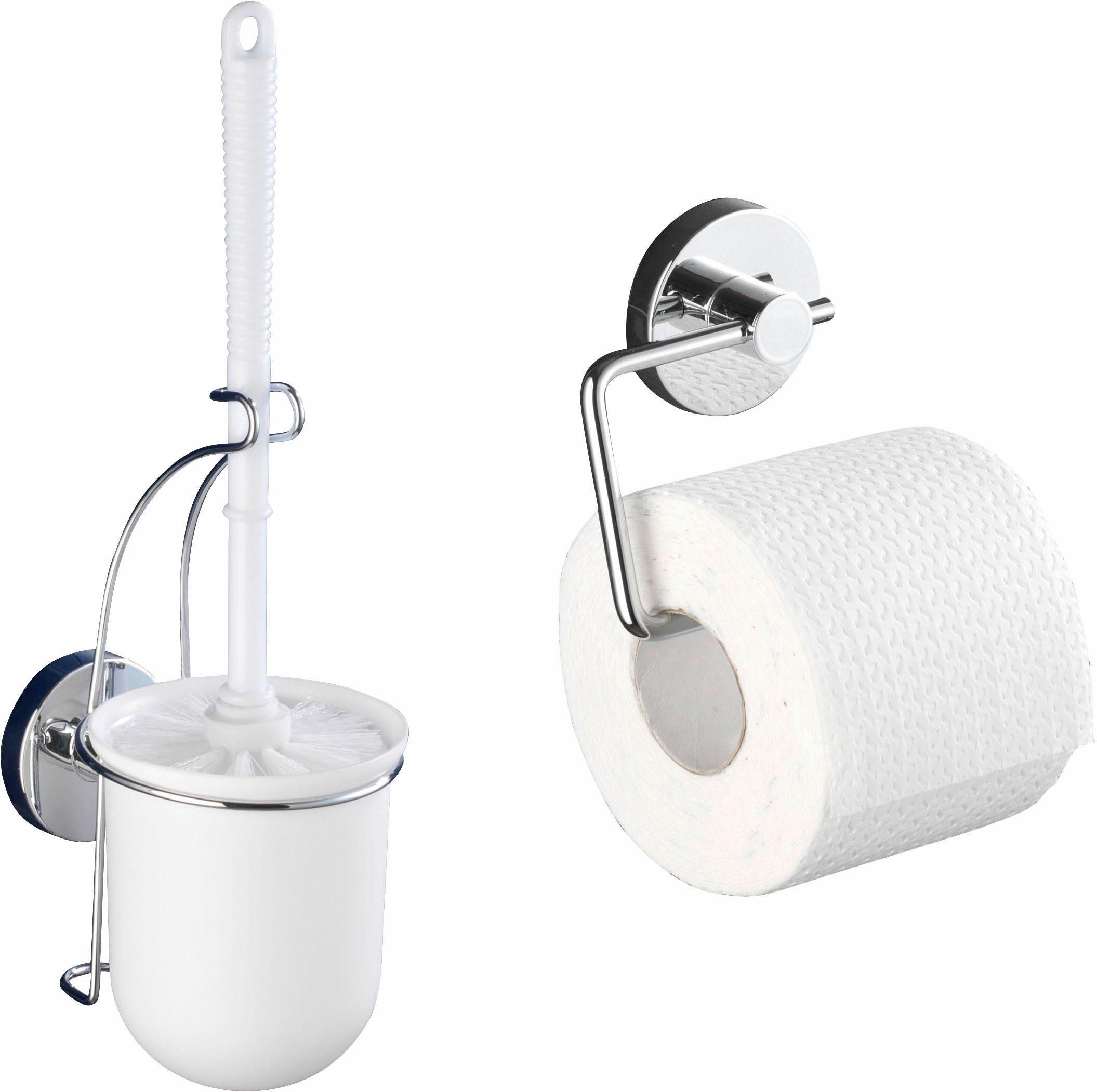 WENKO WC Rollenhalter »Milazzo« und WC-Garnitur