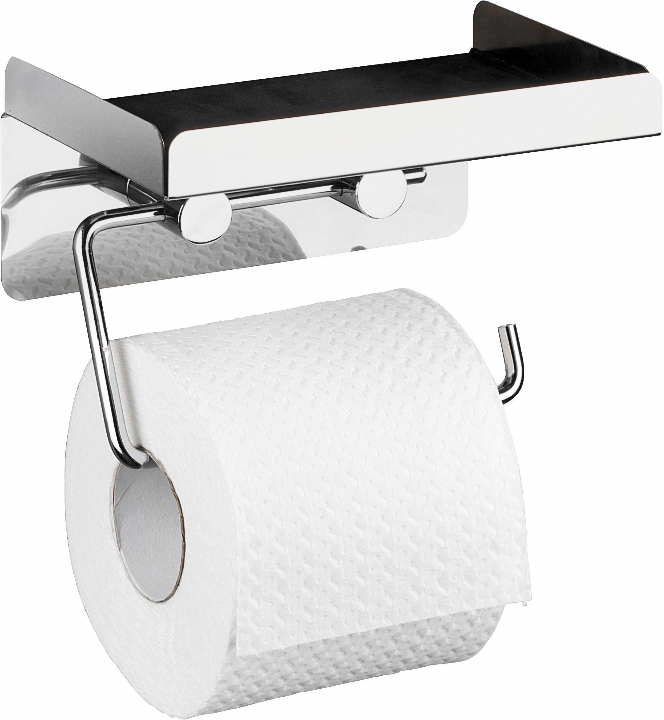 WENKO Toilettenpapierhalter »2 in 1«