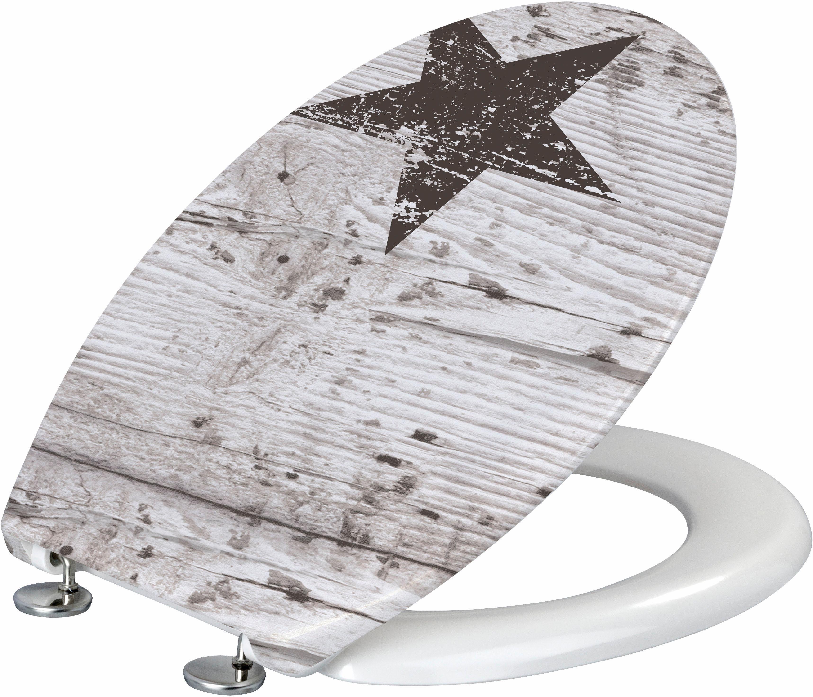 WENKO WC-Sitz »Star«