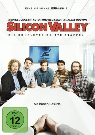 DVD »Silicon Valley - Die komplette dritte Staffel...«