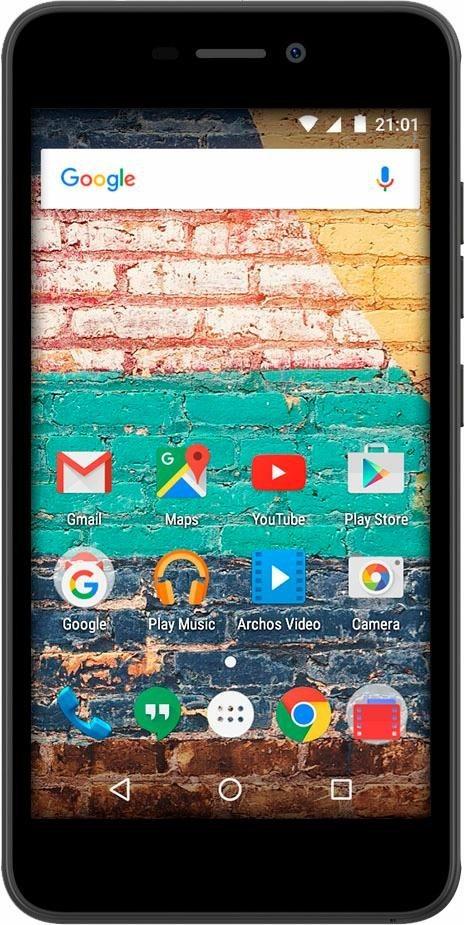 Archos 50f Neon Smartphone, 12,7 cm (5 Zoll) Display, Android 7.0 (Nougat), 8,0 Megapixel - Preisvergleich