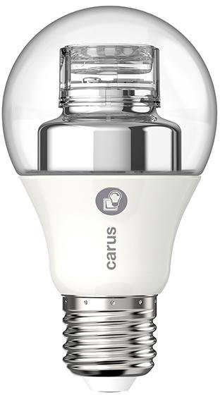 Carus LED Leuchtmittel E27, 2er Set, »Dimm by Click«