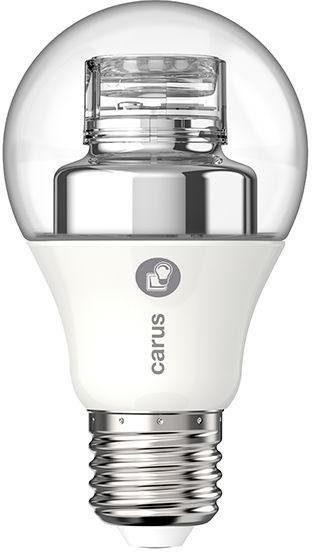 carus »Warm by Click« LED-Leuchtmittel, E27, 2 Stück, Warmweiß, im 2er Set
