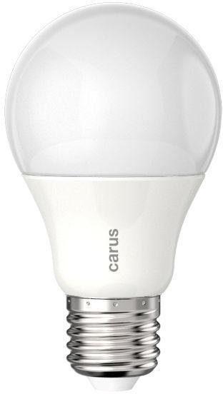 carus »Tageslicht dimmbar« LED-Leuchtmittel, E27, 2 Stück, Neutralweiß