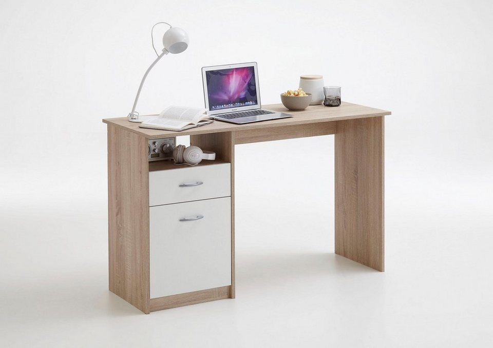 fmd schreibtisch jackson mit 1 schubkasten und 1 t r online kaufen otto. Black Bedroom Furniture Sets. Home Design Ideas