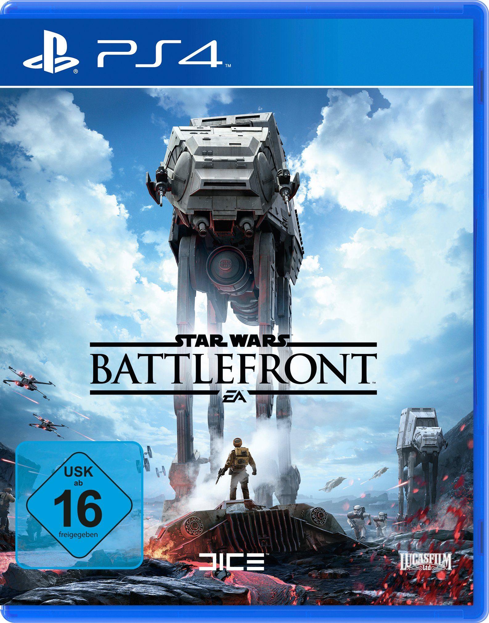 Electronic Arts Software Pyramide - Playstation 4 Spiel »Star Wars Battlefront«