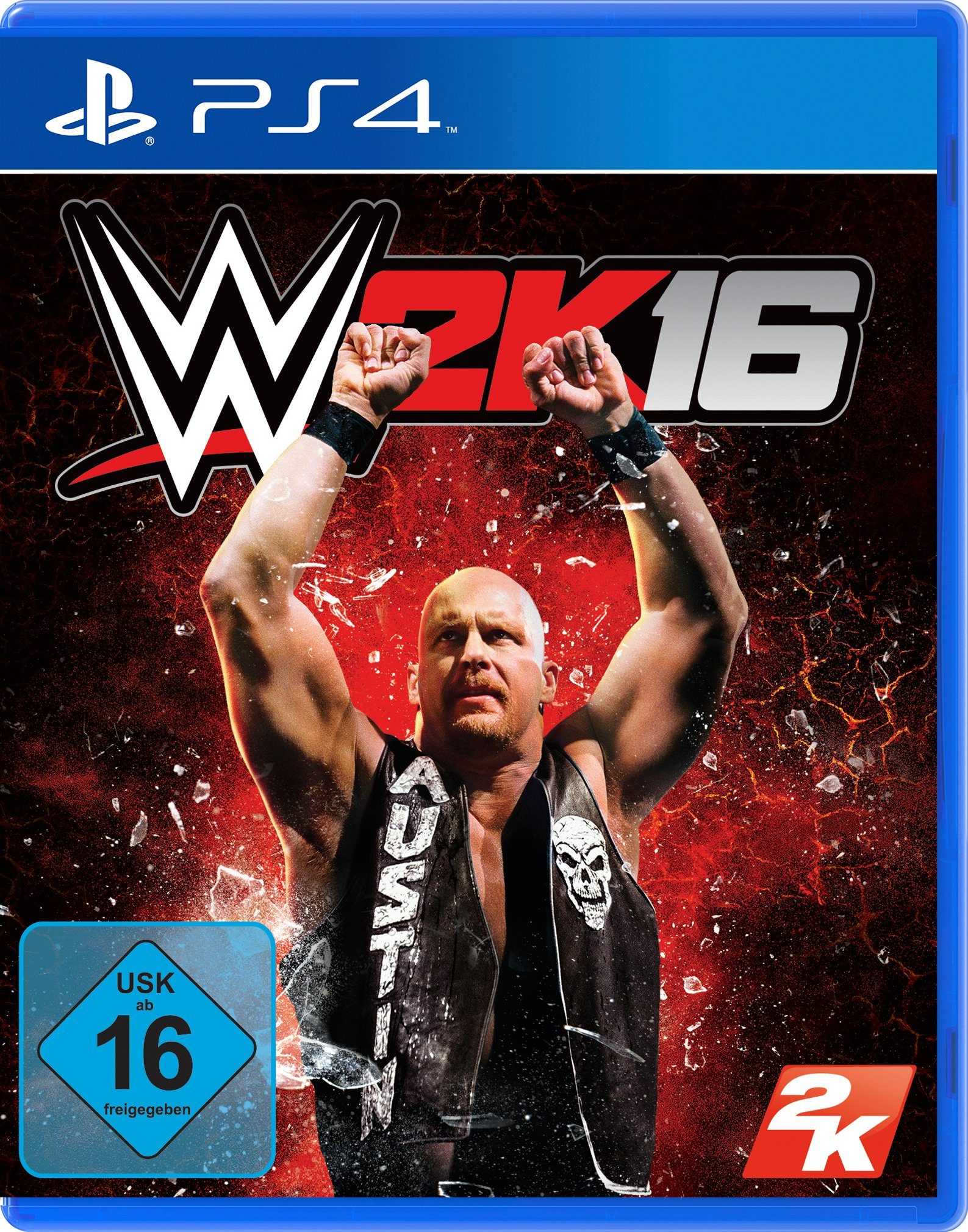 Take Two Software Pyramide - Playstation 4 Spiel »WWE 2K16«