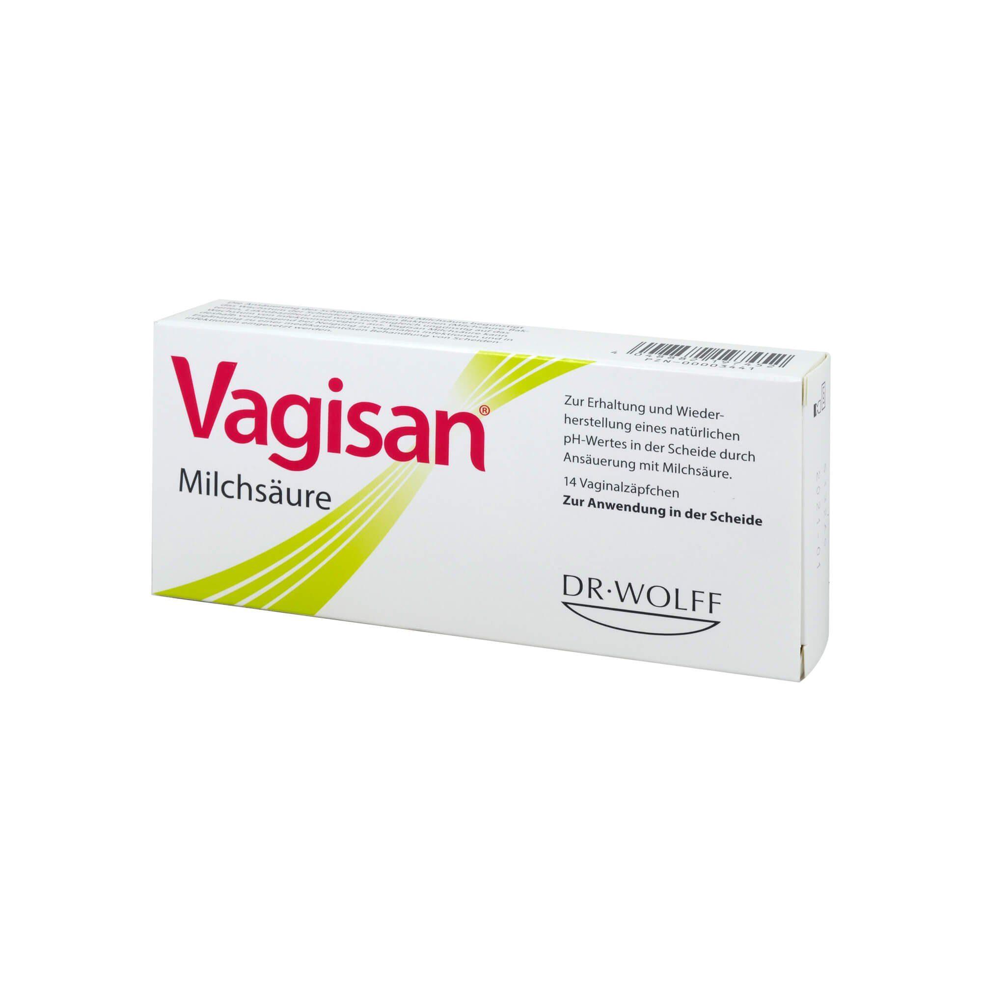 Vagisan Vagisan Milchsäure Vaginalzäpfchen , 14 St