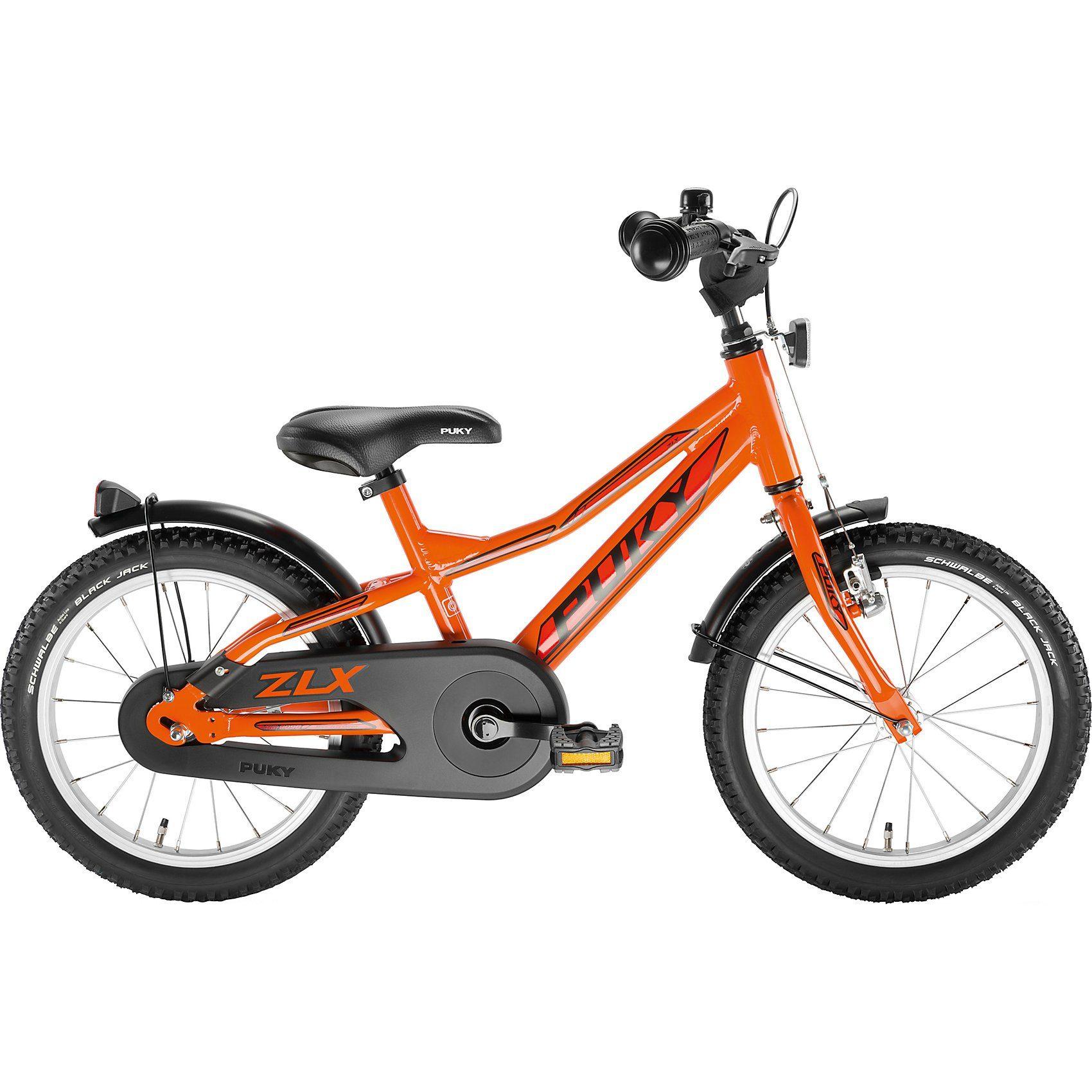 Puky Kinderfahrrad ZLX 16-1 Alu racing, orange
