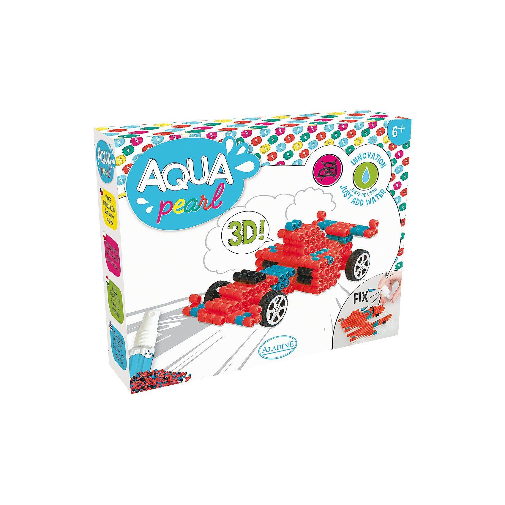 Aladine Aqua Pearl Set Rennwagen