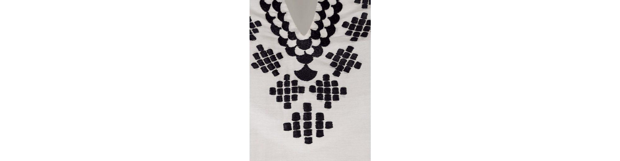 Alba Moda Tunika mit kontrastfarbiger Stickerei Aufwendig bestickt Günstig Kaufen Eastbay Original-Verkauf Spielraum Niedrigsten Preis Billig Bester Ort 9WsDKD4zEW