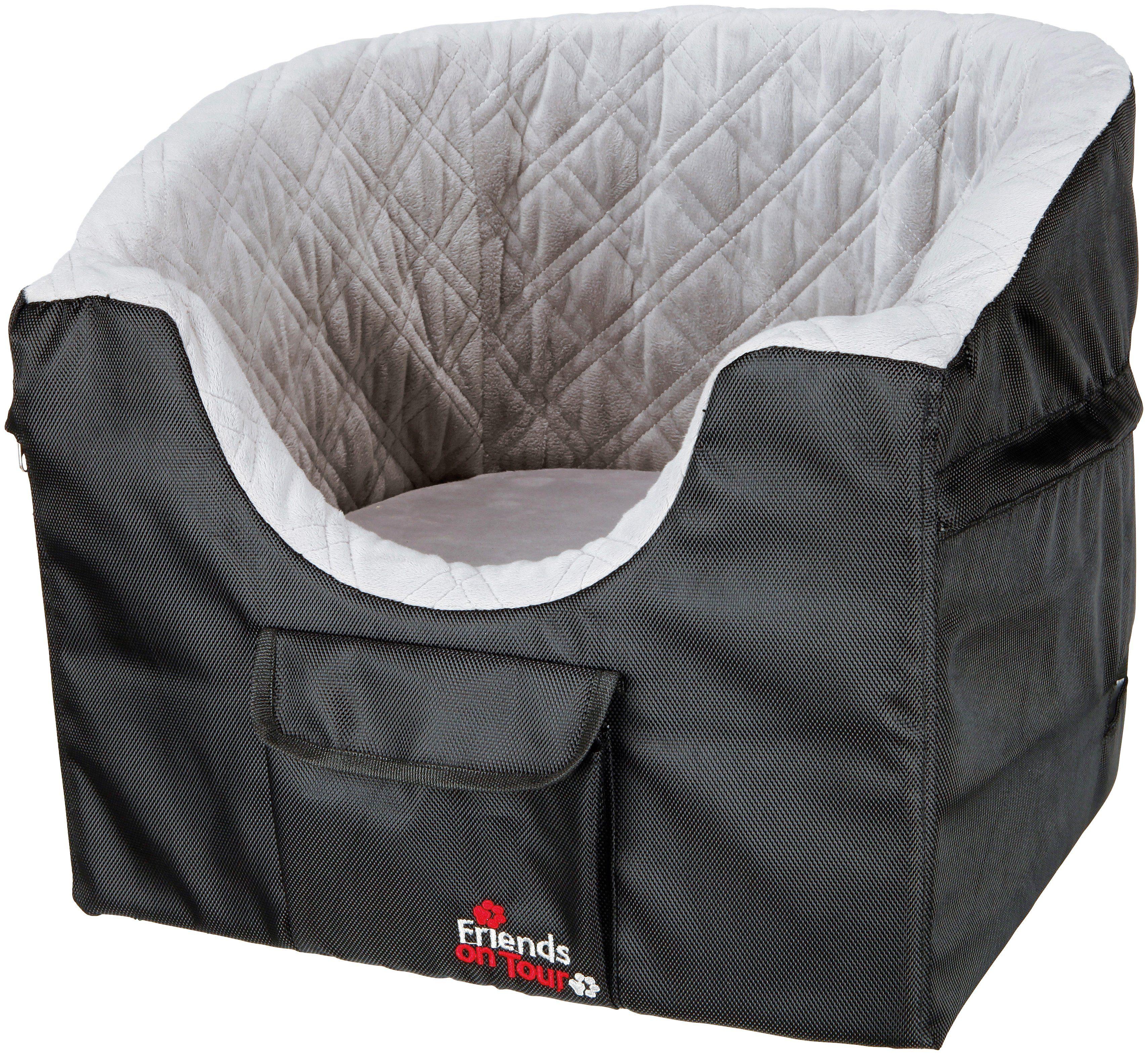 TRIXIE Autositz für Hunde , für kleine Hunde, BxL: 45x42 cm