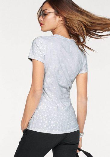 Superdry Rundhalsshirt CLASSIC STAR ENTRY TEE, mit Logo-Print