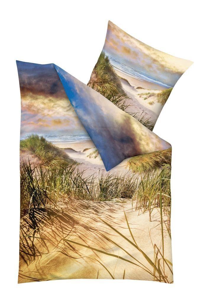 Bettwäsche, kaeppel, »Dünen«, mit einem Strand