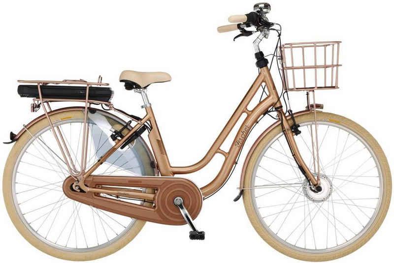 FISCHER Fahrräder E-Bike »RETRO 2.1«, 7 Gang Shimano Nexus Schaltwerk, Nabenschaltung, Frontmotor 250 W