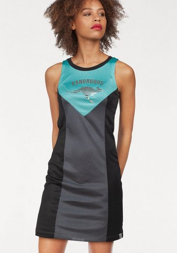 KangaROOS Jerseykleid, im Colorblocking-Style