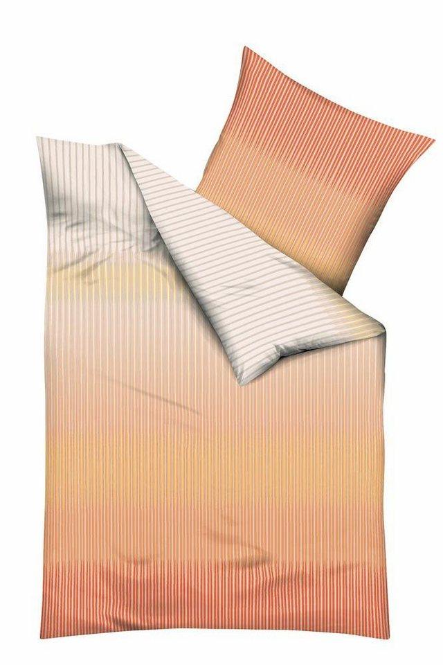 bettw sche kaeppel skala mit streifen im farbverlauf. Black Bedroom Furniture Sets. Home Design Ideas