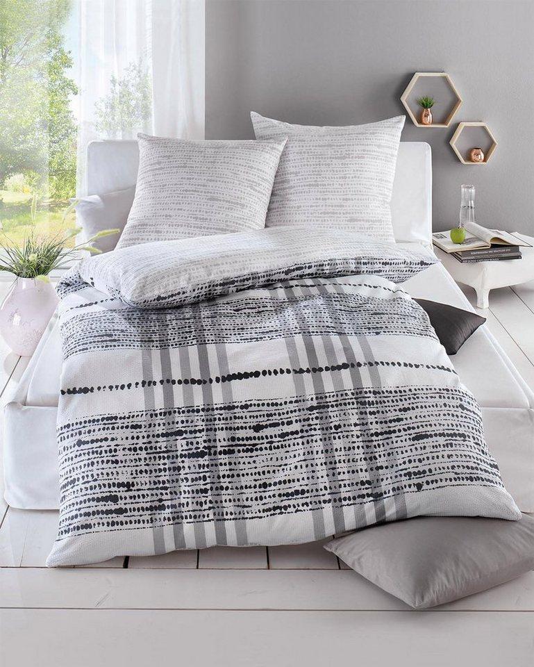 bettw sche kaeppel anyway mit karomuster otto. Black Bedroom Furniture Sets. Home Design Ideas