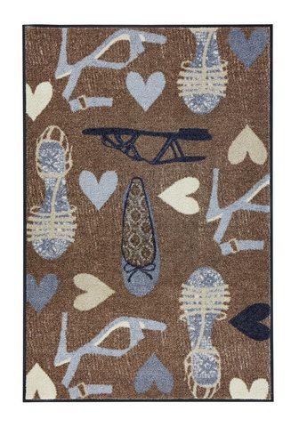 HEINE HOME Durų kilimėlis lengvai prižiūrimas len...