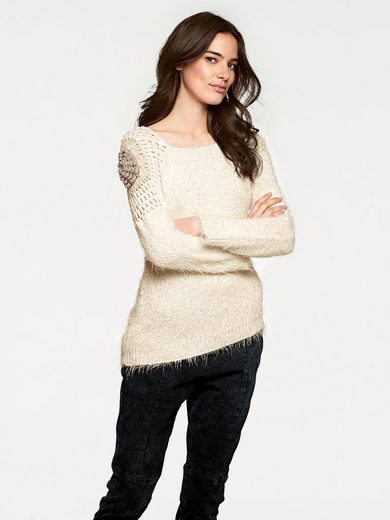 LINEA TESINI by Heine Crochetpullover asymmetrische Form