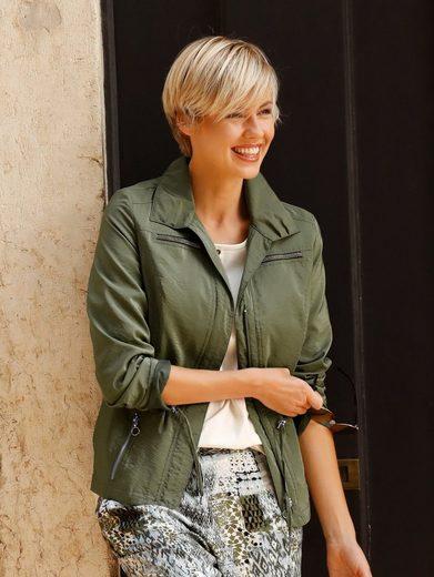 Paola Jacke mit Zierbändern