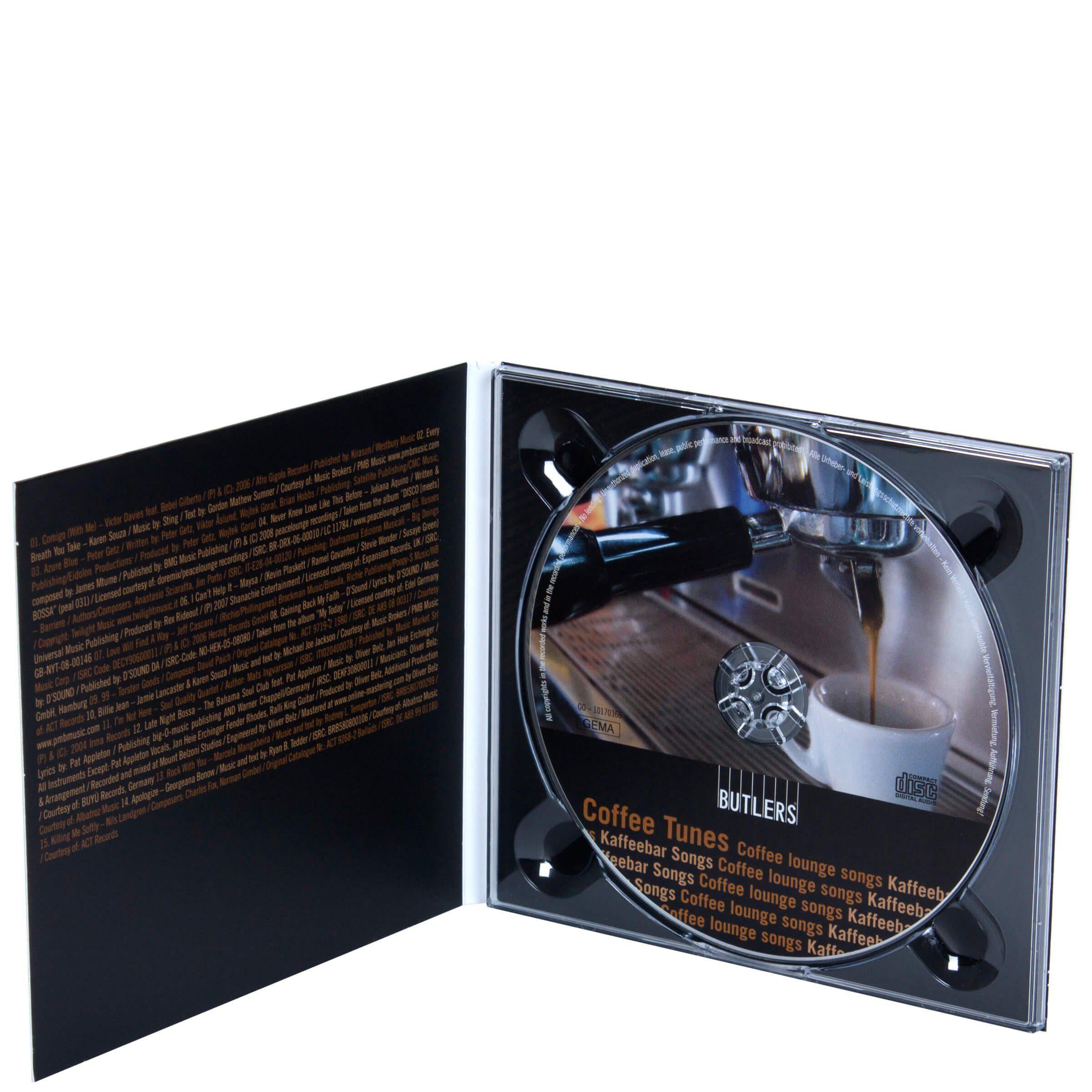 BUTLERS COFFEE TUNES CD »Kaffeebar Songs«