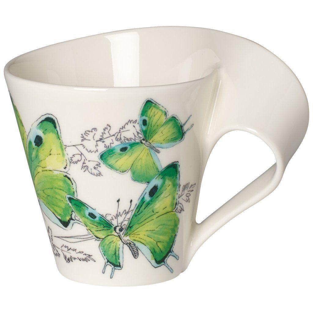 Villeroy & Boch Becher mit Henkel »NewWave Caffè Deep green hairstreak«