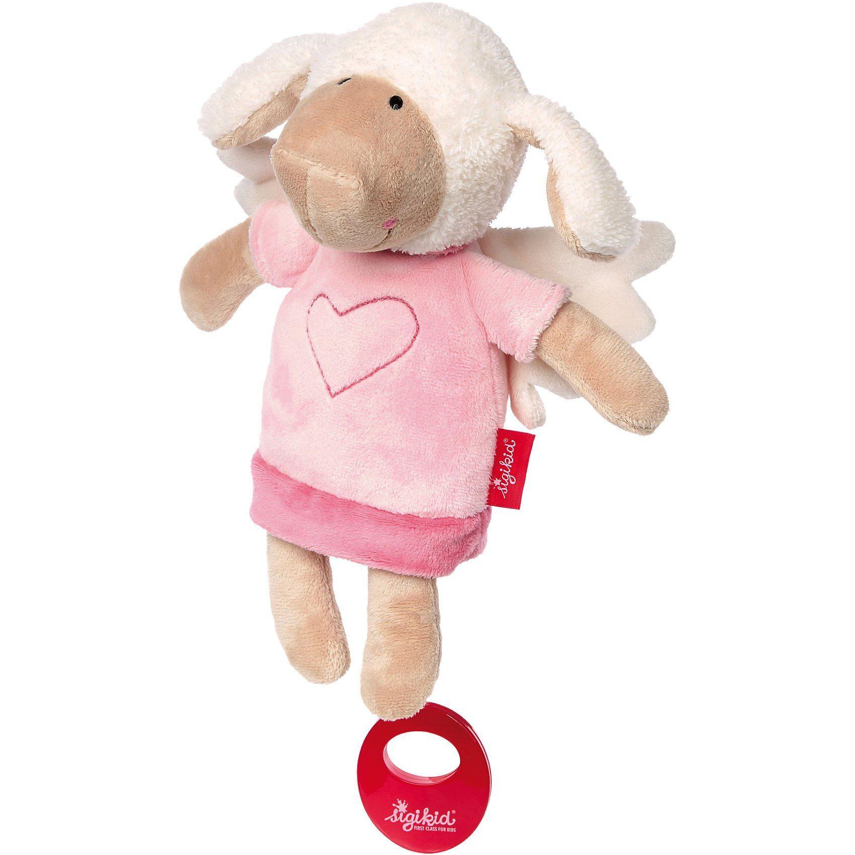 sigikid Spieluhr, Schutzengel Schaf rosa (41458)