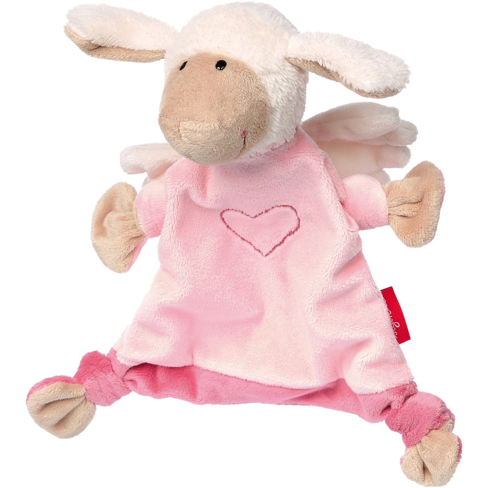sigikid Schnuffeltuch, Schutzengel Schaf rosa