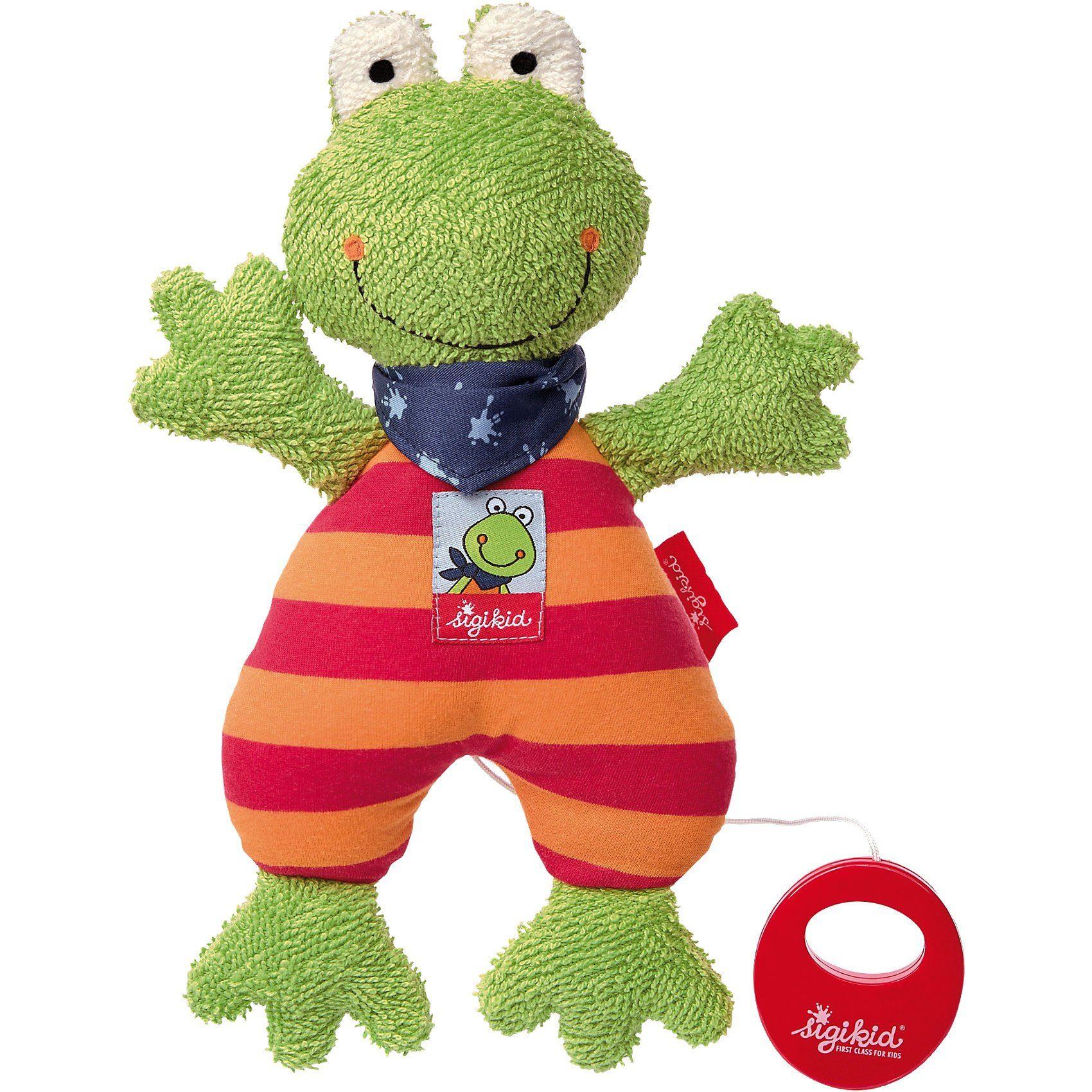 sigikid Spieluhr Frosch Folunder Frog