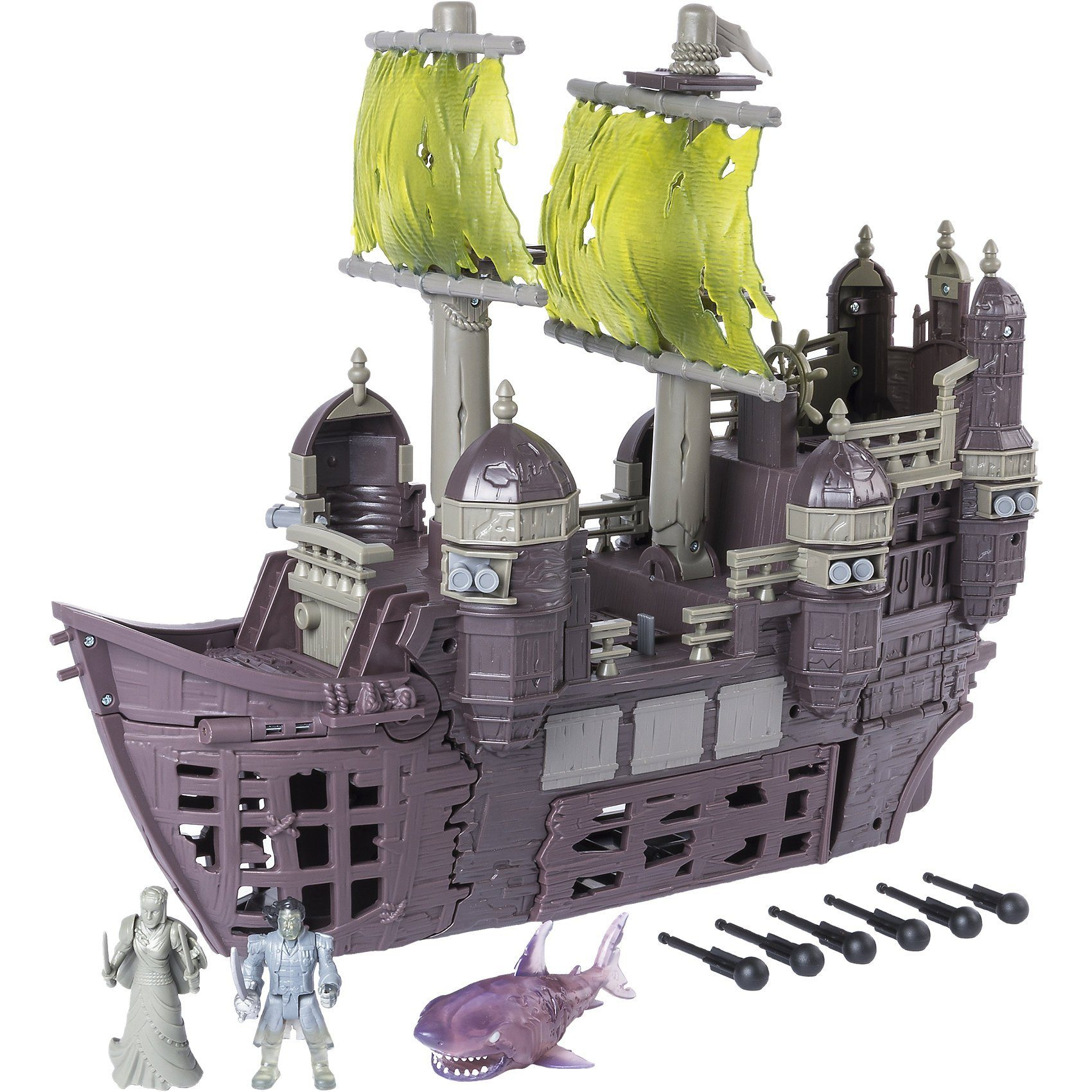 Spin Master Fluch der Karibik - Silent Mary Piratenschiff