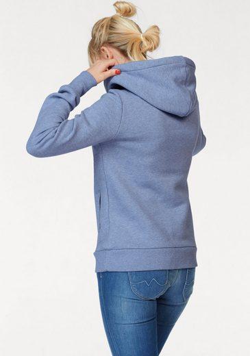 Pepe Jeans Kapuzensweatshirt TINA, mit weitem Schalkragen