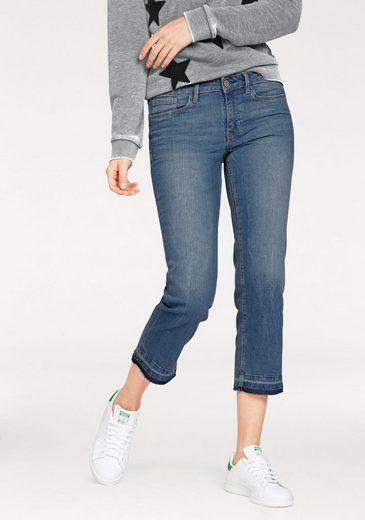 Tom Tailor Denim 7/8-Jeans Stella, in Crinkle-Optik