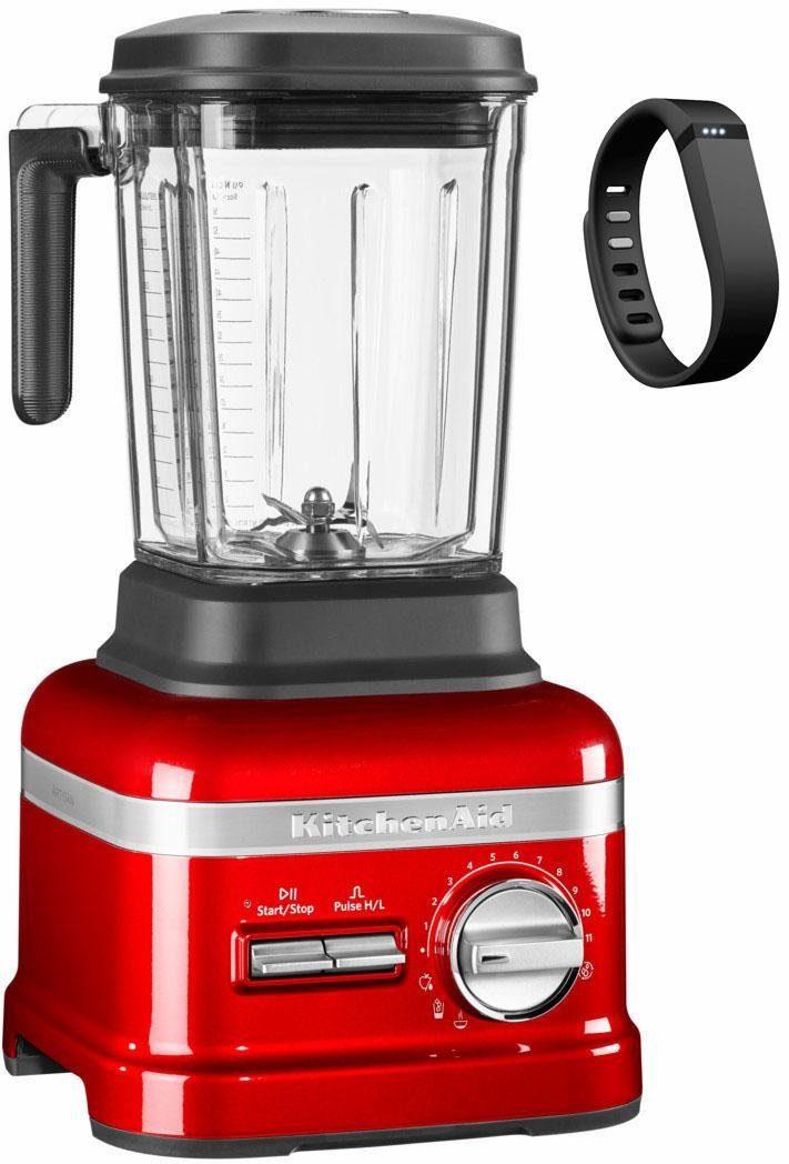 KitchenAid® Standmixer Artisan Power Plus 5KSB8270ECA, mit GratisFitBit Band im Wert von 99,-€, liebesapfelrot