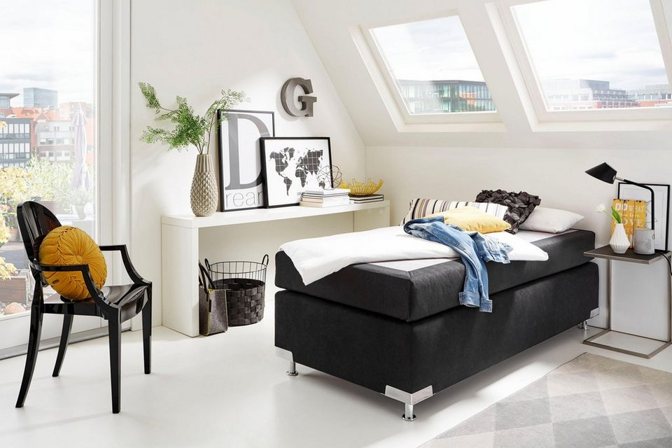 westfalia polsterbetten boxspringbett ohne kopfteil frei im raum stellbar online kaufen otto. Black Bedroom Furniture Sets. Home Design Ideas